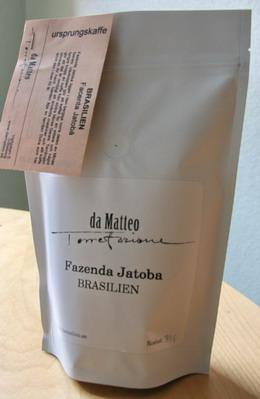 Kaffebönor Fazenda Jatoba da Matteo Torrefazione