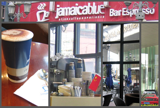 Jamaica Blue espresso bar i Shangai
