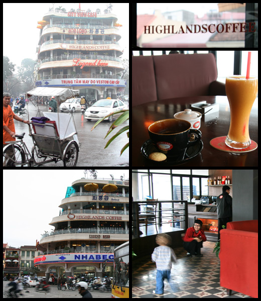 Highlands Coffee i Hanoi