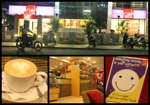 Café Coffee Day - Colva Beach, Indien