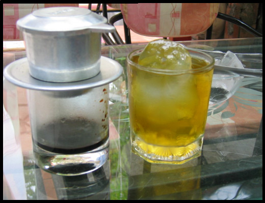 Vietnamesiskt kaffe, Tropical Café - Nha Trang Vietnam