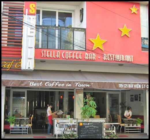 Stella Coffe Bar - Saigon, Vietnam