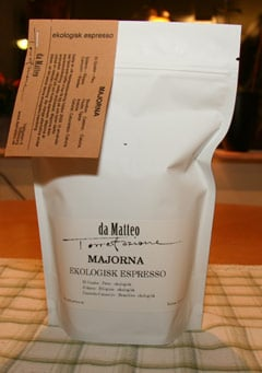 Majorna eko-kaffe