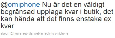 scrndmp 19 iPhone 4 köer i Göteborg