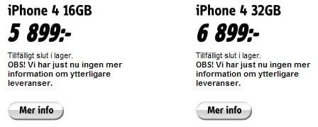 scrndmp 20 iPhone 4 köer i Göteborg