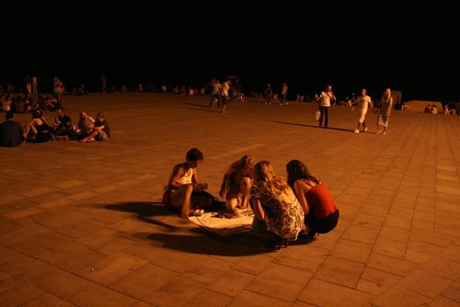 barcelona by night 8364 Det svänger framåt natten