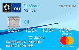 SAS Eurobonus World Mastercard Premium
