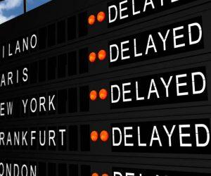 flygförsening - mardrömmen på drömresan